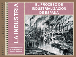 Proceso de industrialización en España
