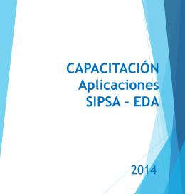 Capacitación SIPSA-EDA