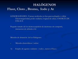 HALOGENOS - U