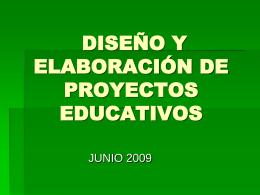 etapas proyecto educativo