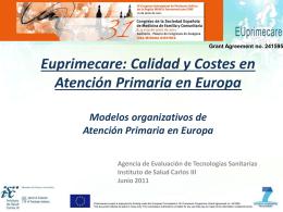 Modelos de AP en Europa