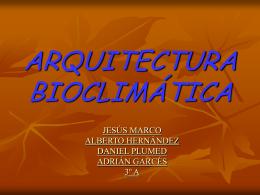 Arquitectura bioclimï