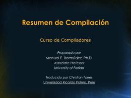 Resúmen de Compilación ()