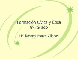 Formación Cívica y Ética 8º. Grado