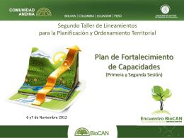 ACTIVIDADES - Programa BIOCAN