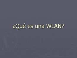 ¿Qué es una WLAN? - IES Gonzalo Nazareno