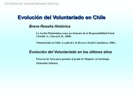 cátedra de voluntariado social