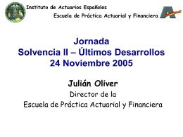 Presentación de PowerPoint - Instituto de Actuarios Españoles