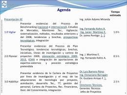 Agenda 5 de octubre