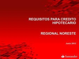 Requisitos créditos Santander 4 MDP