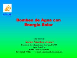 bomba - Proyecto de Energía Renovable