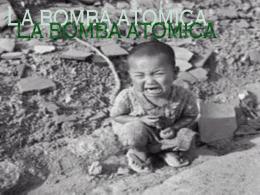 bomba atomica - tecnologia-para-un-mundo-mejor