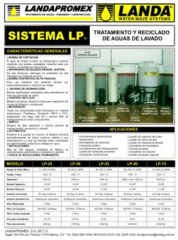 LP-Reciclado de aguas de Lavado Automotriz