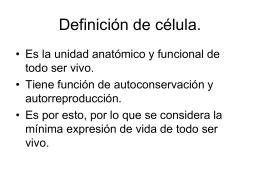 La célula - UTOPIA Psicologia