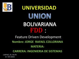 Presentación FDD nueva