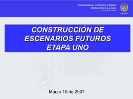 ETAPA 1. CONSTRUCCION DE ESCENARIOS versión 3