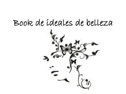 Book de ideales de belleza
