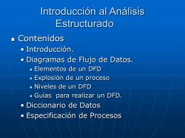 Introducci  n al An  lisis Estructurado_clase1