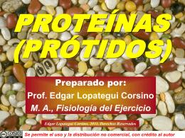 PROTEÍNA - Saludmed