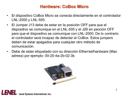 Hardware: CoBox Micro – Tabla de NetMask