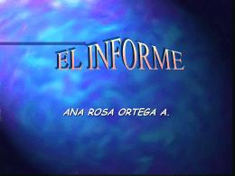ETAPAS PARA RALIZAR EL INFORME