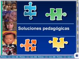 Soluciones pedagogicas