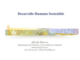 Desarrollo sostenible - Universidad de Valladolid