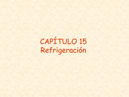 TERMO CAP15 Refrigeración