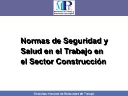 evaluacion de la seguridad y salud en la construccion