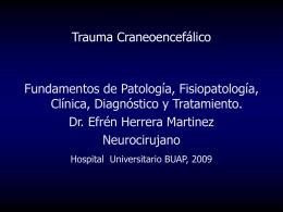 Vea este tema - Herrera Martínez, Efrén, Dr