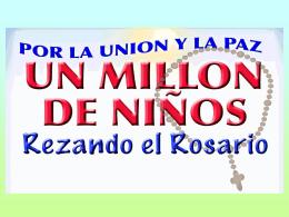 1 UN MILLÓN DE NIÑOS
