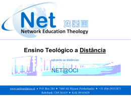 Blended Learning - Network Education Theology