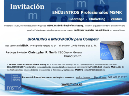 MSMK Madrid School of Marketing