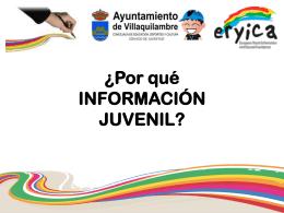 INFORMACIÓN JUVENIL? - Ayuntamiento de Villaquilambre