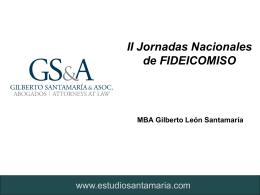 II Jornadas Nacionales de Fideicomiso