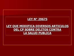 LEY SALUD 1