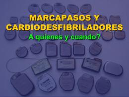 marcapasos y cardiodesfibriladores 1