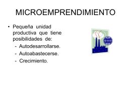 PROYECTO DE MICROEMPRENDIMIENTO