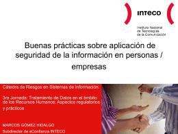 presentación - Cátedra de Riesgos en Sistemas de Información