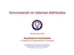 AD-DistribSinc - Servidor de Apoyo al Sistema Escolarizado
