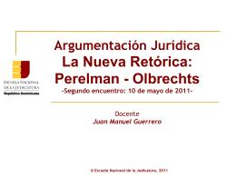Nueva_Retórica - Escuela Nacional de la Judicatura