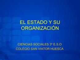 EL ESTADO Y SU ORGANIZACIÓN - Página de recursos educativos