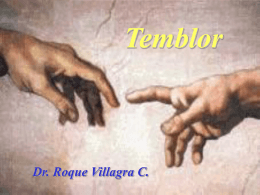 Temblor: diagnostico diferencial