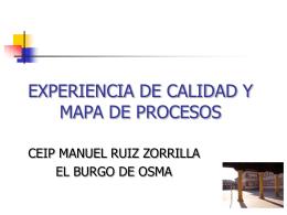 revisión y actualización del protocolo de la experiencia de calidad