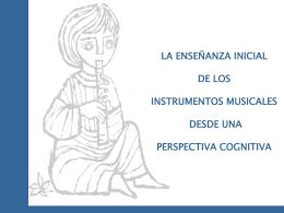 la enseñanza inicial de los instrumentos musicales desde una
