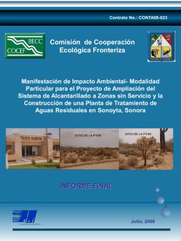 Diapositiva 1 - Comisión de Cooperación Ecológica Fronteriza