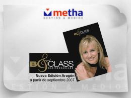 Nueva Edición Aragón - Metha Gestion & Medios