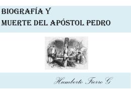 518biografia y muerte del apostol Pedro