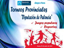 TORNEOS PROVINCIALES 2015