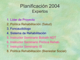 COMITE IMPLEMENTACION 26 de marzo de 2004
